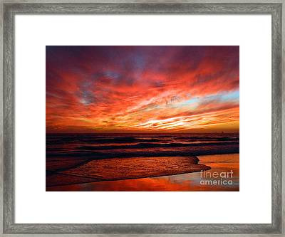 October Evenings Framed Print