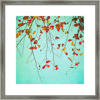 October Greetings Framed Print by Sharon Coty