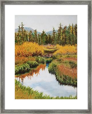 October Splendor Framed Print