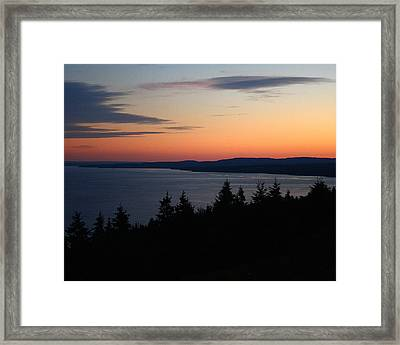 October Summers 608 Framed Print