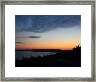 October Summers 610 Framed Print