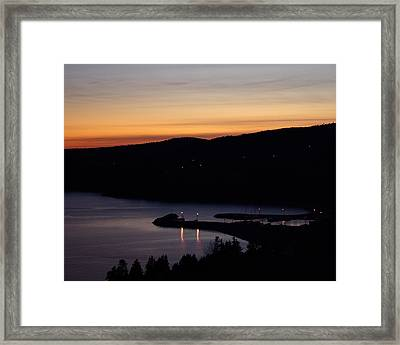 October Summers 615 Framed Print