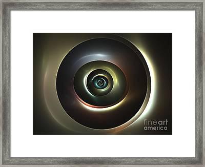Ocular Lens Framed Print by Kim Sy Ok