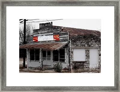 Odd Gallery Framed Print by Joe Finney