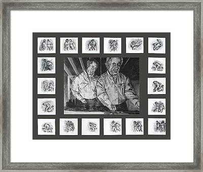 Ode To Kentridge Framed Print by Ryan Babcock