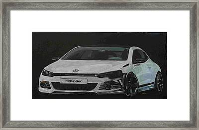 Oettinger Vw Scirocco  Framed Print