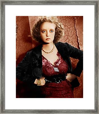Of Human Bondage, Bette Davis, 1934 Framed Print by Everett
