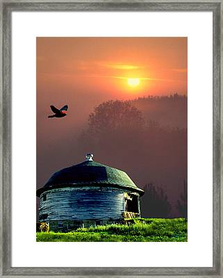 Of Setting Suns Framed Print
