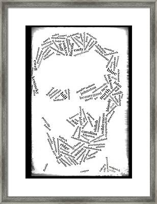 Of The People--by The People--for The People Framed Print by David Bearden