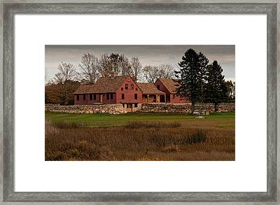 Of Wood And Stone Framed Print