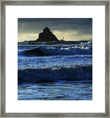 Off Arch Cape Framed Print