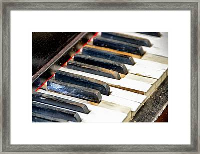 Off Key Framed Print by Angelina Vick