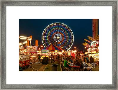 Off-midway Framed Print by Jim Moore