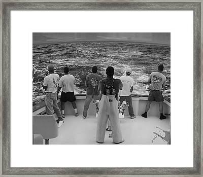 Off Shore Framed Print