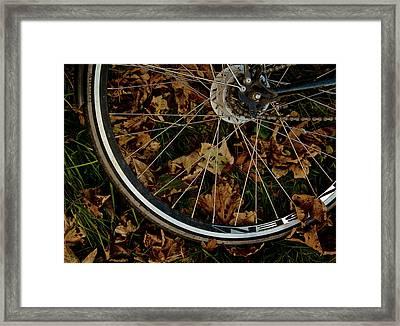 Off To Explore Framed Print by Odd Jeppesen