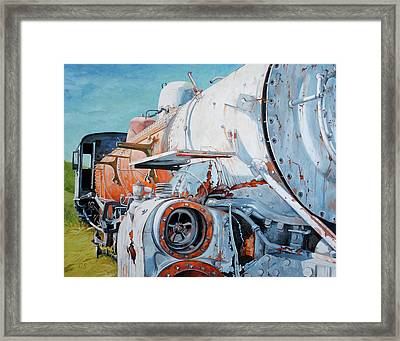 Off Track Framed Print