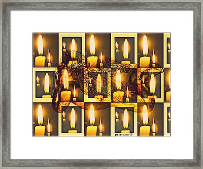 Offer Light Framed Print by Paulo Zerbato