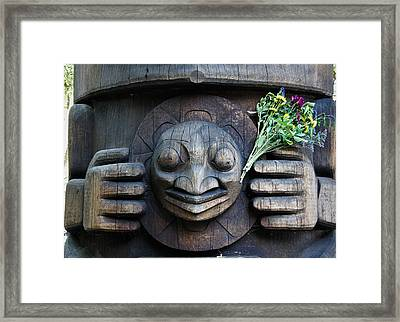 Offering Framed Print