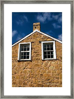 Officers Quarters Framed Print by Travis Burgess