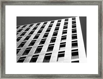Offices Building Framed Print by Joelle Icard