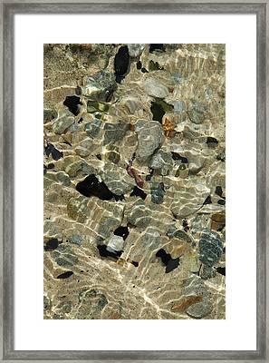 Offshore Floor Framed Print by George Crawford