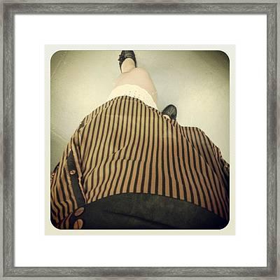 Oggi Sono #steampunk Framed Print