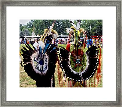 Oglala Friends Framed Print by Chris Brewington Photography LLC