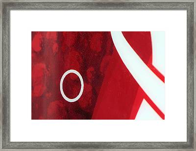 Oh Framed Print by Anthony R Socci