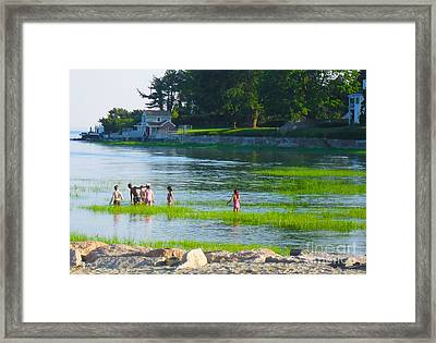 Framed Print featuring the photograph Oh Joy by Beth Saffer