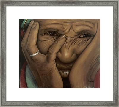 Oh Mary Framed Print by L Cooper