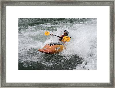 Oh What A Feeling Framed Print by Bob Christopher