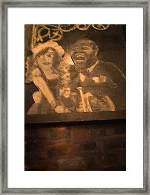 Oh  Yeah Framed Print by Richard  Hubal