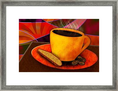 Ohhh.. Coffee Framed Print by Melisa Meyers