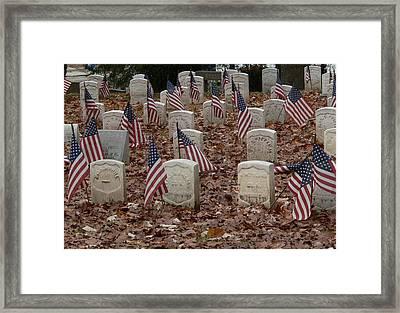 Ohio Heroes In Dayton Framed Print by David Bearden