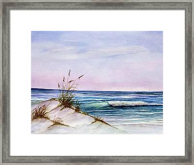 Okaloosa Beach Framed Print by Rosie Brown
