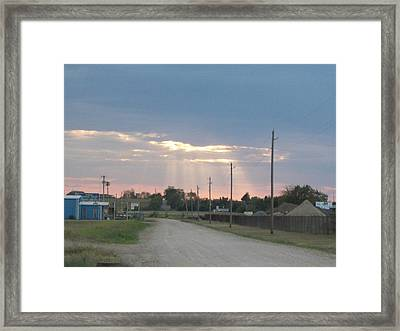 Oklahoma Beamer Framed Print by Adam Cornelison