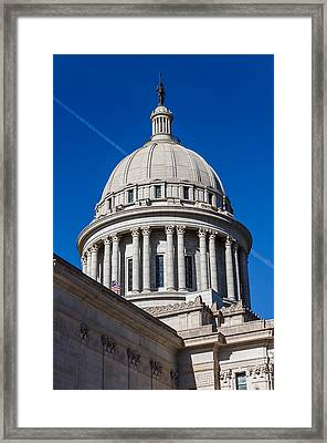 Oklahoma State Capitol Dome Framed Print by Doug Long