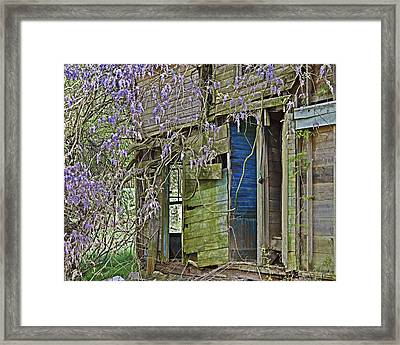 Framed Print featuring the photograph Old Abandoned House by Susan Leggett