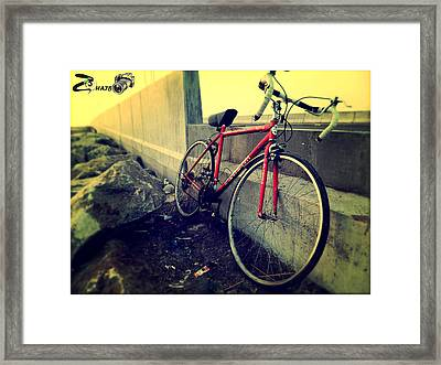 Old Age Framed Print by Zohaib Hassan