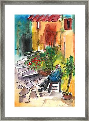 Old And Lonely In Crete 02 Framed Print by Miki De Goodaboom