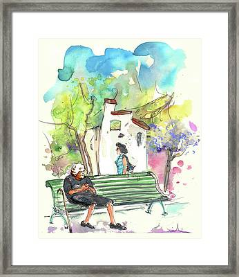 Old And Lonely In Portugal 04 Framed Print by Miki De Goodaboom