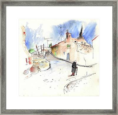 Old And Lonely In Spain 02 Framed Print by Miki De Goodaboom