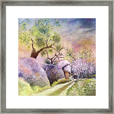 Old And Lonely In Spain 06 Framed Print by Miki De Goodaboom