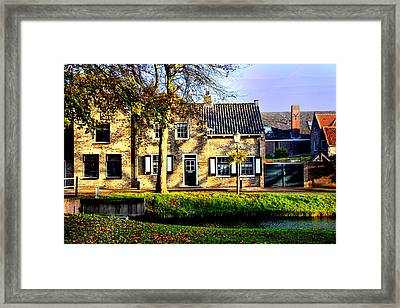 Old And New Holland Framed Print