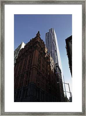Old And New  Framed Print by Paul Plaine