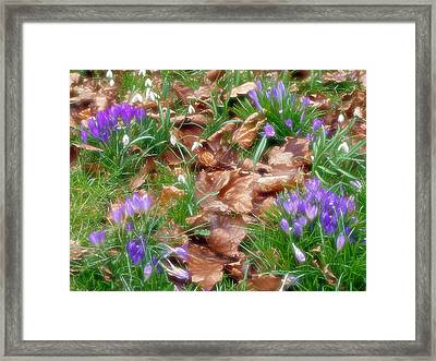 Framed Print featuring the photograph Old And New by Rod Jones