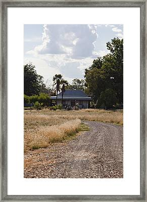 Framed Print featuring the photograph Old Australian Home by Carole Hinding