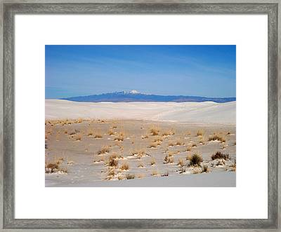 Old Baldy Mountain  Framed Print by Randy  Rhodes