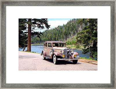 Old Beautiful Framed Print by Carolyn Ardolino