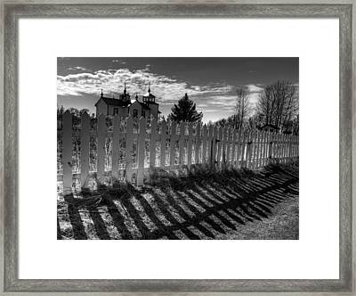 Old Beliefs And Shadows Framed Print